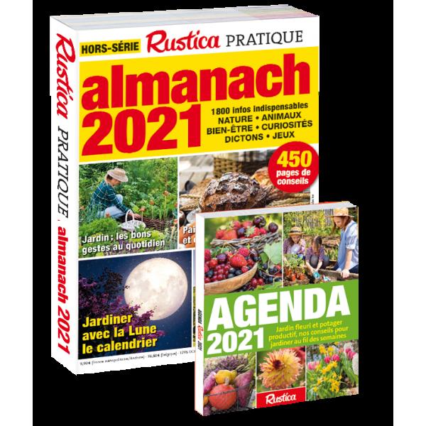 Calendrier Rustica 2021 Almanach Rustica 2021 + agenda 2021