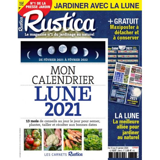 Calendrier Lunaire Avril 2022 Rustica RUSTICA   Jardiner avec la Lune 2021