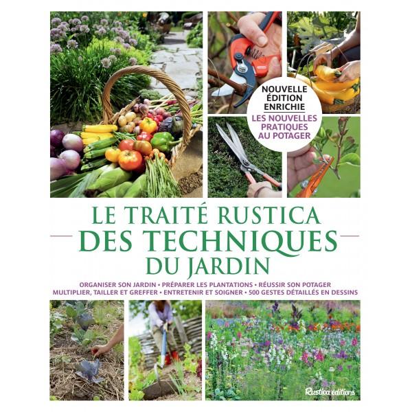 Le trait rustica des techniques du jardin - La boutique du jardinage ...
