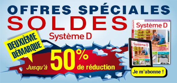 Offre spéciales Soldes SYSTEMED gauche